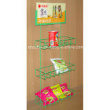 Metal Wire Hanging Potato Chips Rack (PHY1003F)
