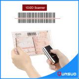 1d 2D Wireless Qr Code Bar Scanner for Inventory
