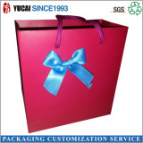 Red Paper Bag Ladies Shopping Bag
