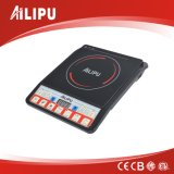 Ailipu a-Grade Black Crystal Plate Induction Cooker with Push Button Control