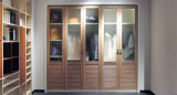 Customized Wooden Bedroom Sliding Door Wardrobe (zy-004)