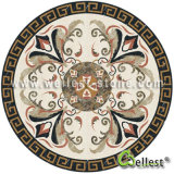 China Natural Marble Round Waterjet Medallion for Hotal Hall