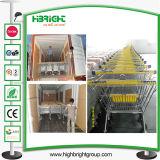 Supermarket Zinc Metal Shopping Trolley