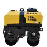 Remote Control Hydraulic Vibratory Road Roller with Double Drum