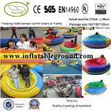 Non-Brush Motor High Quality UFO Bumper Car with LED Light
