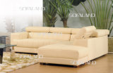 Genuine Leather Corner Sofa 828#