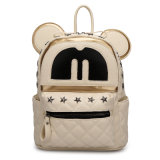 2016 Newest Fashion Leather Small Cute Girl Backpack