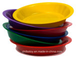 Multicolor Round Plastic Food Dish of Educational Toys (ZP-02)
