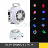 8PCS*3W Spot Gobo Effect LED Magic UFO Disco Light