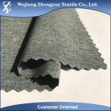 Cation Melange Polyester 4 Way Stretch Woven Fabric for Garment