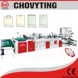 Fully Automatic Plastic Handle Bag Making Machine (4 funtiones bag device)