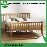 Solid Double Oak Wood Bed Full Size Bed (W-B-0025)