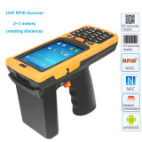 Android OS RFID Reader Module 1d and 2D Pistol Barcode Scanner