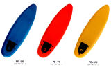 Surfing Board with Soft XPE Material and in Plain Color