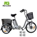 Small 3 Wheel Pedal Assist 36V 250W Electric Trike