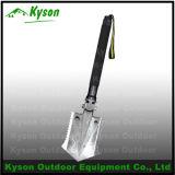 Lightweight Utinity Outdoor Survival Kits Shovel Knife Hoe Saw Fire Flint