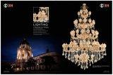 Hotel Project Luxury Zinc Alloy Crystal Chandelier Light