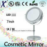 7′′ Wholesales Standing Cosmetic&Makeup Mirror with LED