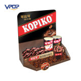 China Experienced Cardboard PDQ Paper Counter Display Boxes with Hook