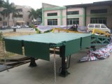 Customized Three Side Mobile Yard Ramp for Loading and Unloading