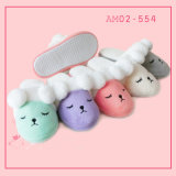 Ladies New Winter Fashion Cute Warmers Plush Indoor Soft Slippers