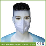 Foldable Non-Woven Dust Mask with Exhalation Valve