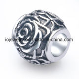 Rose Stainless Steel Bead Jewelry Flower Bead Wholesale
