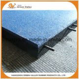 Non-Toxic Safety Kindergarten Rubber Floor Tiles with Plastic Pins