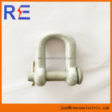 Galvanized Chain Shackle for Pole Line Hardware