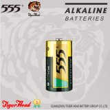 Tiger Head 555 Brand Lr14 C Size/Am2 Alkaline Battery with 0% Mercury