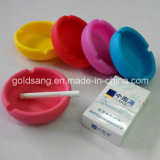 Factory Customize Promotional Gift Creative Round Silicone Ashtray