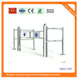 Fast Sales Automatic Double Swing Gate for Supermarket 9161