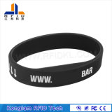 Hot Sale Silicone RFID Lf Wristband for Time Attendance System