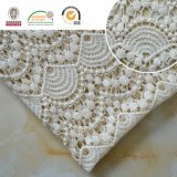 Wavy Cotton Chemical Lace Fabric Garments Accessories with High Quality E10002