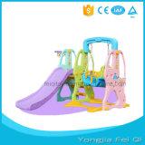 Indoor Playground Plastic Slide and Swing Kids Toy C Series