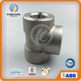 ASME B16.11 Stainless Steel Forged High Pressure Socket Weld Equal Tee Forged Fittings (KT0552)