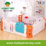 2017 Colorful Indoor Plastic Playpen for Baby (HBS17040A)