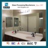 Frameless Wall Mounted Bathroom Mirror for Hotel Room