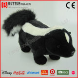 En71 Realistic Soft Toys Stuffed Animal Lifelike Plush Skunk Toy