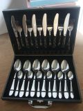 Mirror Polished 18/8 Stainless Steel 24PCS Cutlery Set with Wooden Box Package