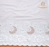 H10015 New Design 100% Cotton Lace Fabric