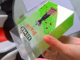 Offset & silk screen printing hot stamping frosted effect soft crease auto bottom lock PET packaging
