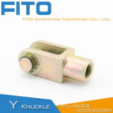 Custom Made Y Knuckle Actuator Accessories Parts Pneumatic Air Cylinder for Airtac Type