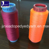Polyester Filament Yarn DTY 600d288f Dope Dyed