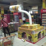 Eye-Catching Cardboard Pallet Display for Supermarket
