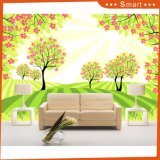 Tree Wallcovering Modern Simple Pattern Wall Paper for Home Decoration Painting
