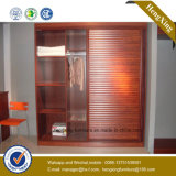 Bedroom Furniture 2 Doors Wardrobe Wooden Closet (HX-LC2067)