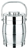 Stainless Steel Heat Preservation Pot Threoms Moderl No: 9417# 3L