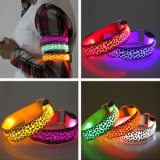 Sweat Resistant High Visibility Safety Wristband Leopard Glow Band Sport LED Bracelet