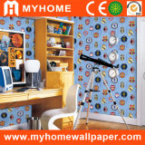 Wholesale Colorful Vinyl Wallpaper with Factory Price